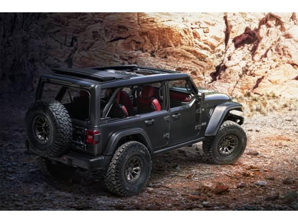 Jeep presenta un prototipo de Wrangler con un motor V8 ¿se atreverán a venderlo?