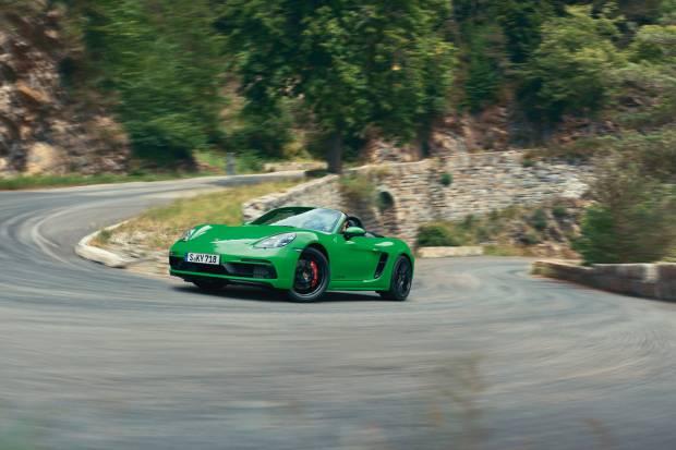 Llegan los Porsche 718 Cayman GTS y 718 Boxster GTS: 4 litros y 400 CV
