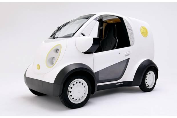 Honda experimenta con la fabricación de coches mediante impresoras 3D
