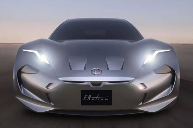 Primeras imágenes del Fisker EMotion, eléctrico con más de 600 km de autonomía