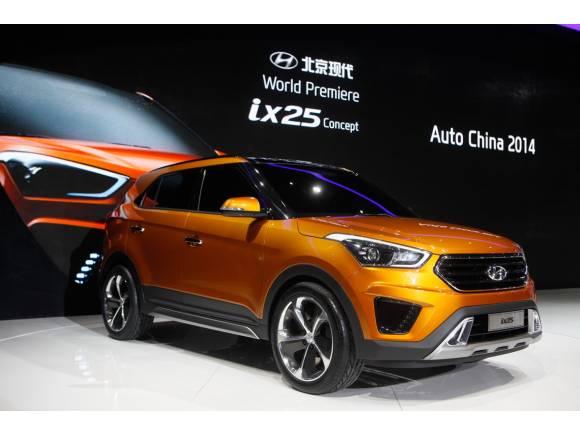 Hyundai completa la gama de los SUV con el ix25