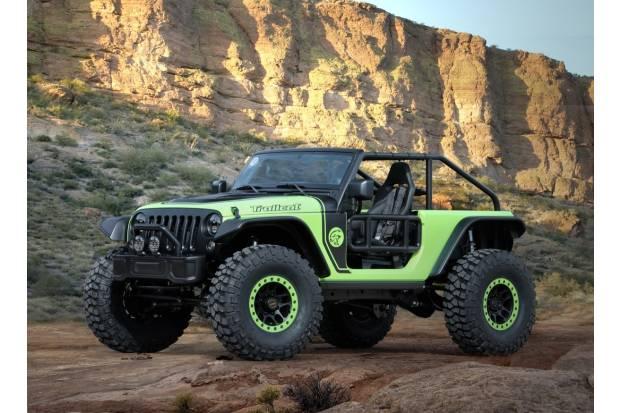 Los 7 prototipos de Jeep para la Easter Jeep Safari