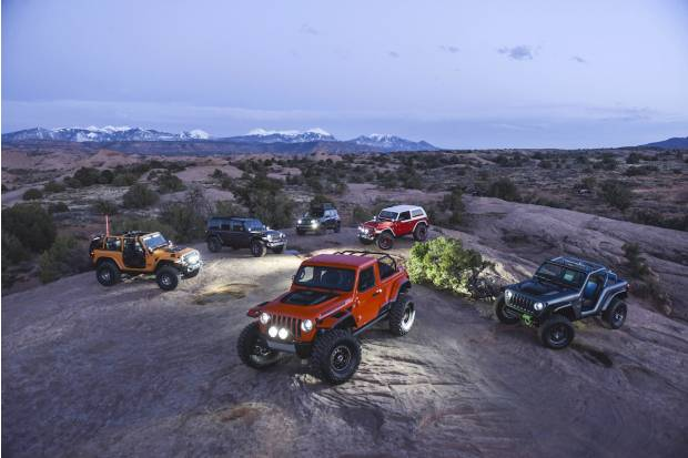 Así son los Jeep del Moab Easter Jeep Safari 2018