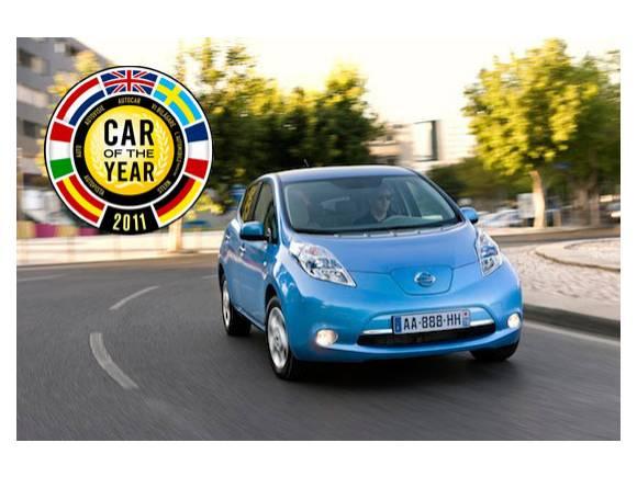 Nissan Leaf: coche del año 2011 en Europa