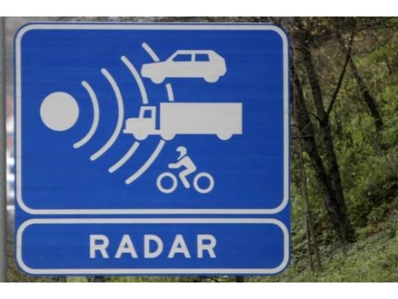 Radares: a qué velocidad multan, según el tipo de carretera