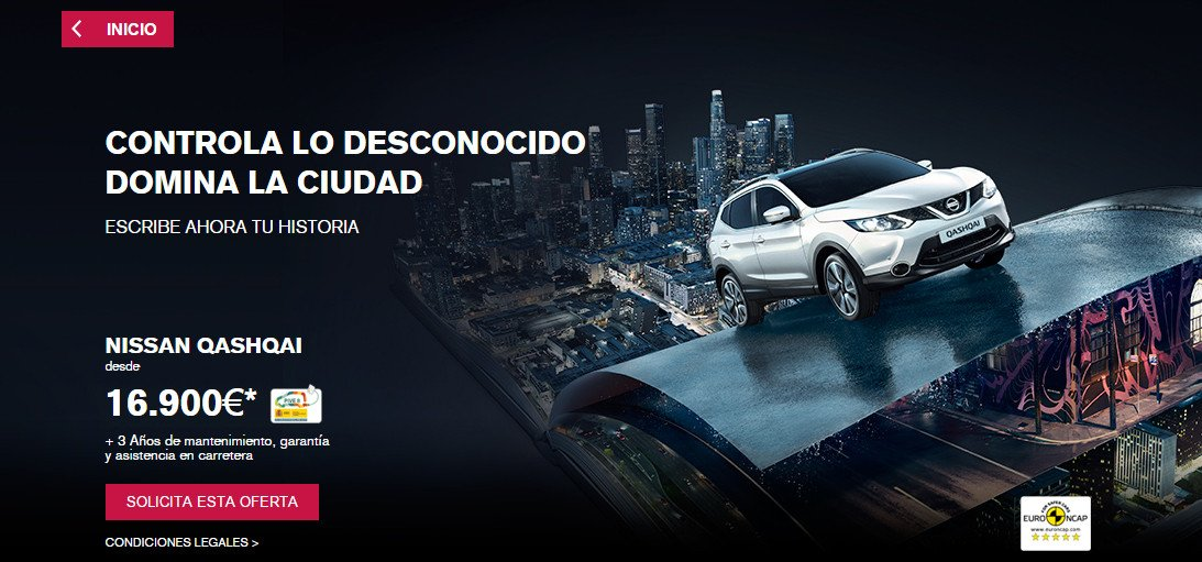 oferta Nissan Qashqai