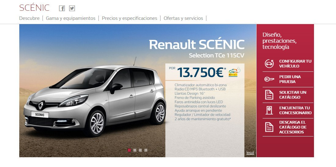 oferta Renault Scenic