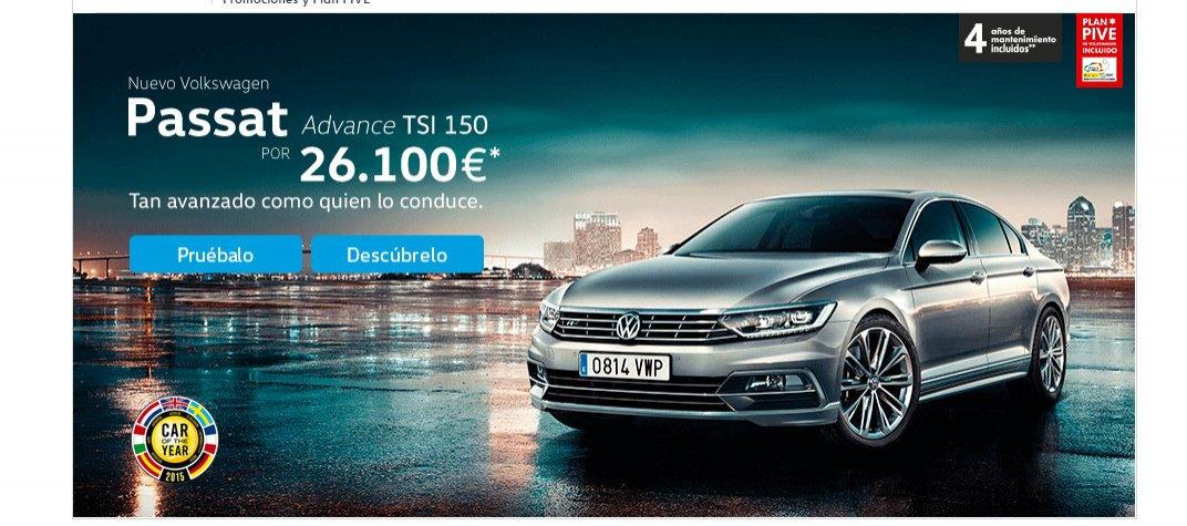 oferta Volkswagen Passat
