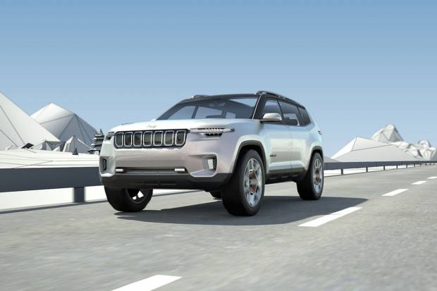 Jeep Yuntu ¿el futuro Grand Cherokee?