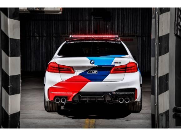 BMW M5 Safety Car: el nuevo M5, coche oficial de MotoGP para 2018