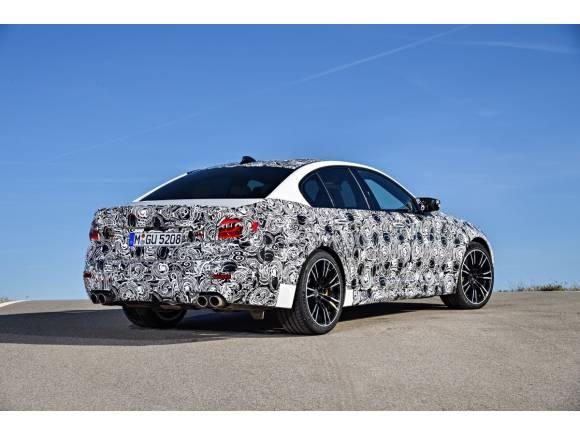El nuevo BMW M5 2017, con tracción total M xDrive