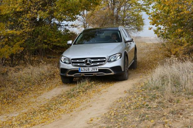 Prueba Mercedes E 220 d 4Matic All-Terrain, campero de lujo