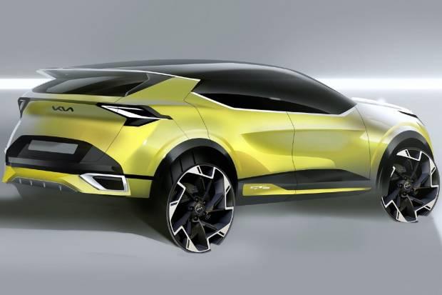Kia Sportage 2022: así son los bocetos que nos muestran su diseño