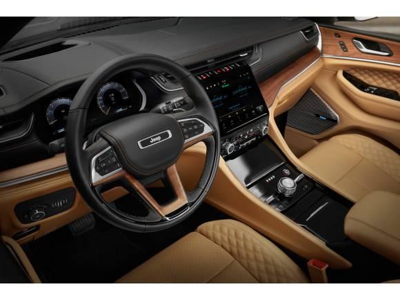 Primeras imágenes de la próxima generación del Jeep Grand Cherokee
