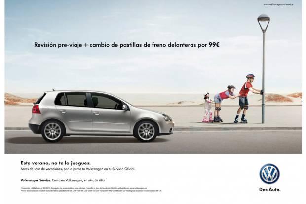 """Volkswagen lanza la campaña """"Este verano no te la juegues"""""""