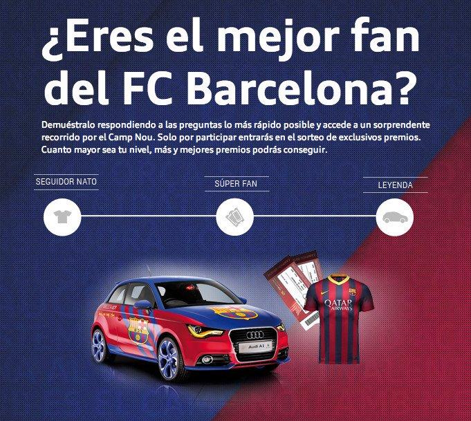 Audi Fan Game Barcelona