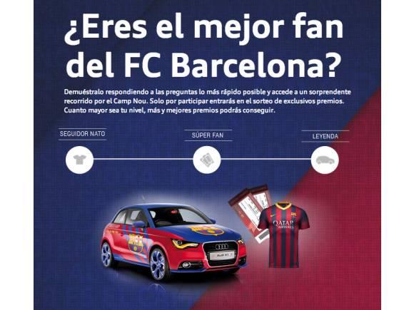 Audi Fan Game: ¿Cuánto sabes del Real Madrid y Barcelona?