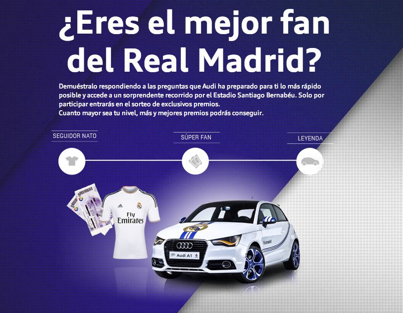 Audi Fan Game Real Madrid