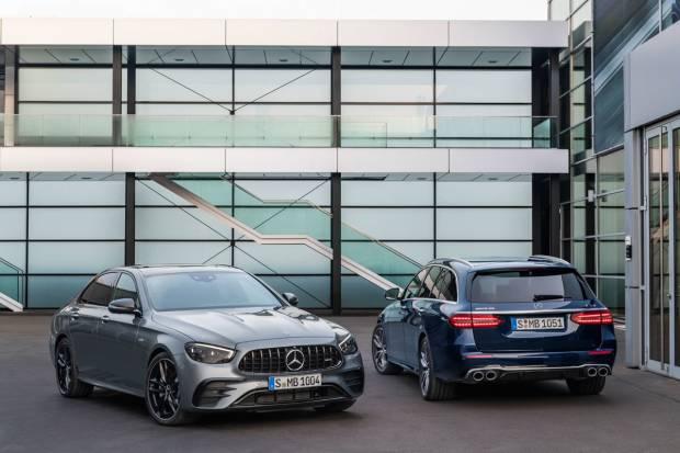 Nuevo Mercedes-AMG E 53: en sedán o familiar con 435 CV