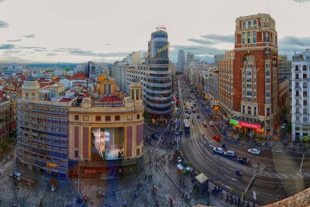 La contaminación en Madrid sube pese a la ausencia de coches en las calles