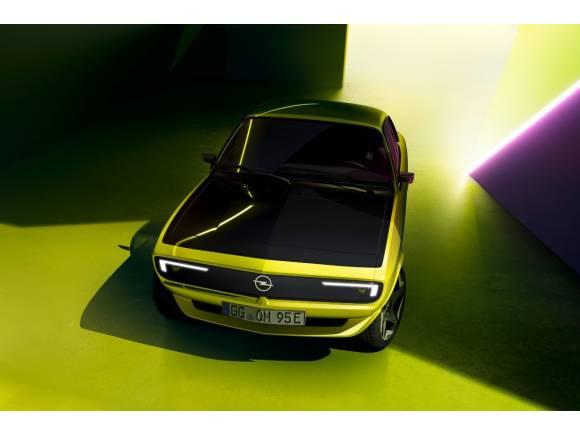 Opel Manta Gse ElektroMOD: el homenaje eléctrico de frontal revolucionario