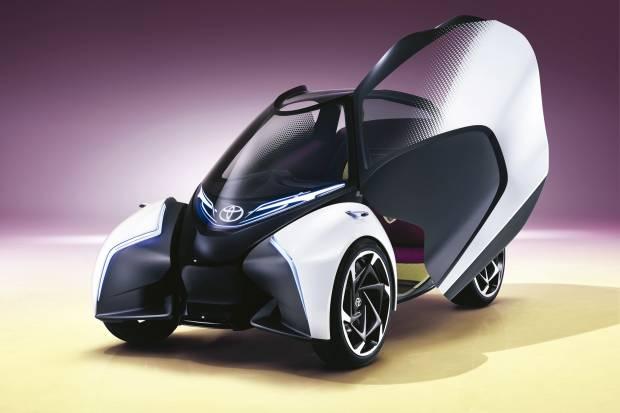 Toyota i-TRIL, la movilidad urbana del futuro