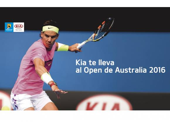 Kia sortea un viaje al Open de Australia