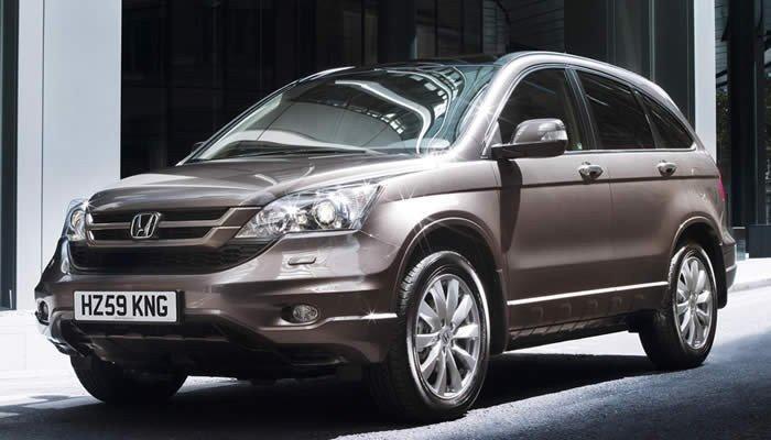 un SUV Honda CRV o Mazda CX7