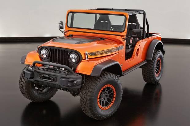 El Jeep CJ66 creado por Mopar para el SEMA de Las Vegas