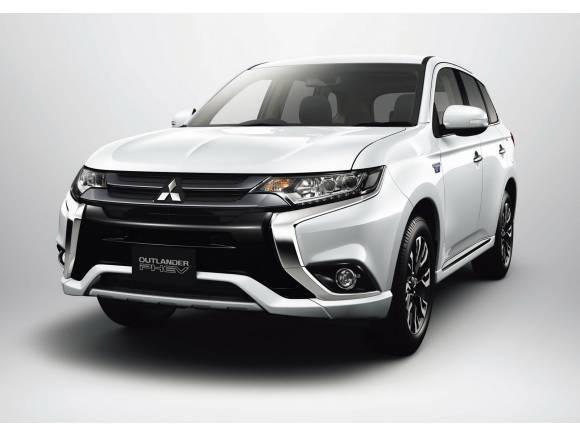 Mitsubishi Outlander PHEV 2016: nueva cara y más autonomía