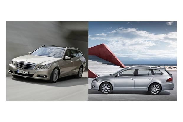 Nuevos familiares: Mercedes Clase E Estate y Golf Variant