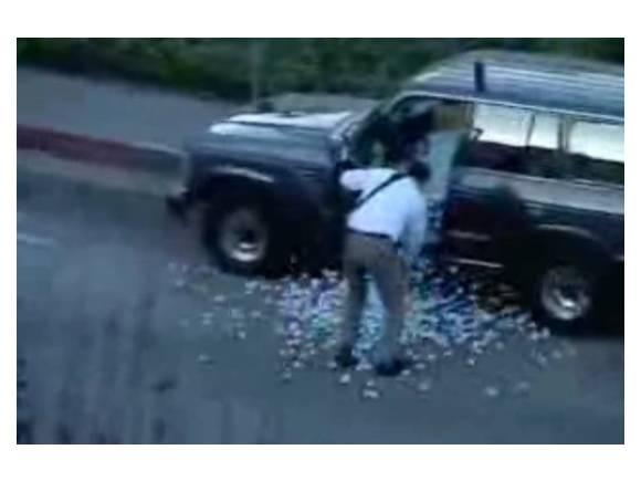 Vídeo: Cuidado con lo que te meten dentro del coche