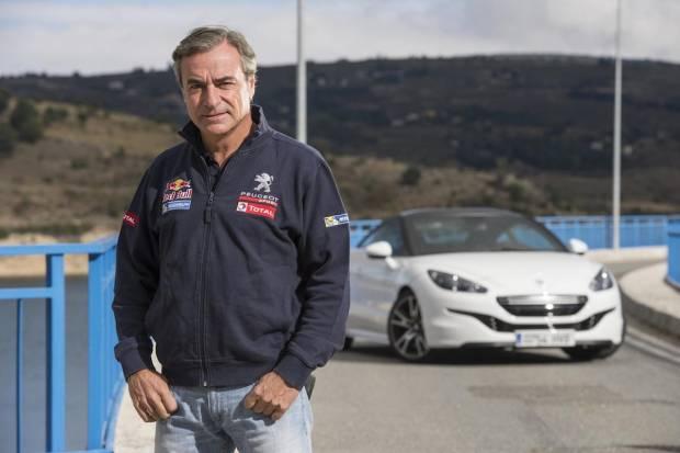 Vídeo: Carlos Sainz conduciendo el Peugeot RCZ R