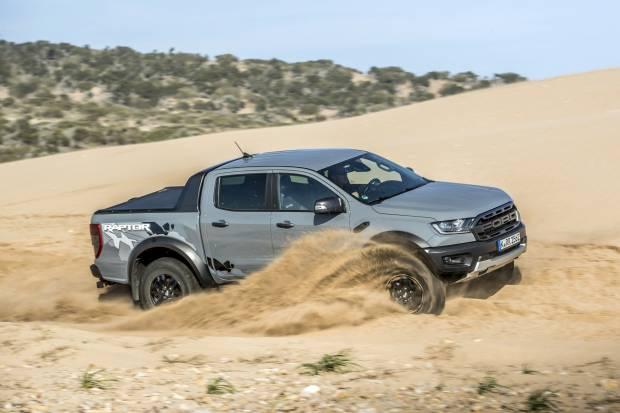 Probamos el Ford Ranger Raptor, un 4x4 de altas prestaciones