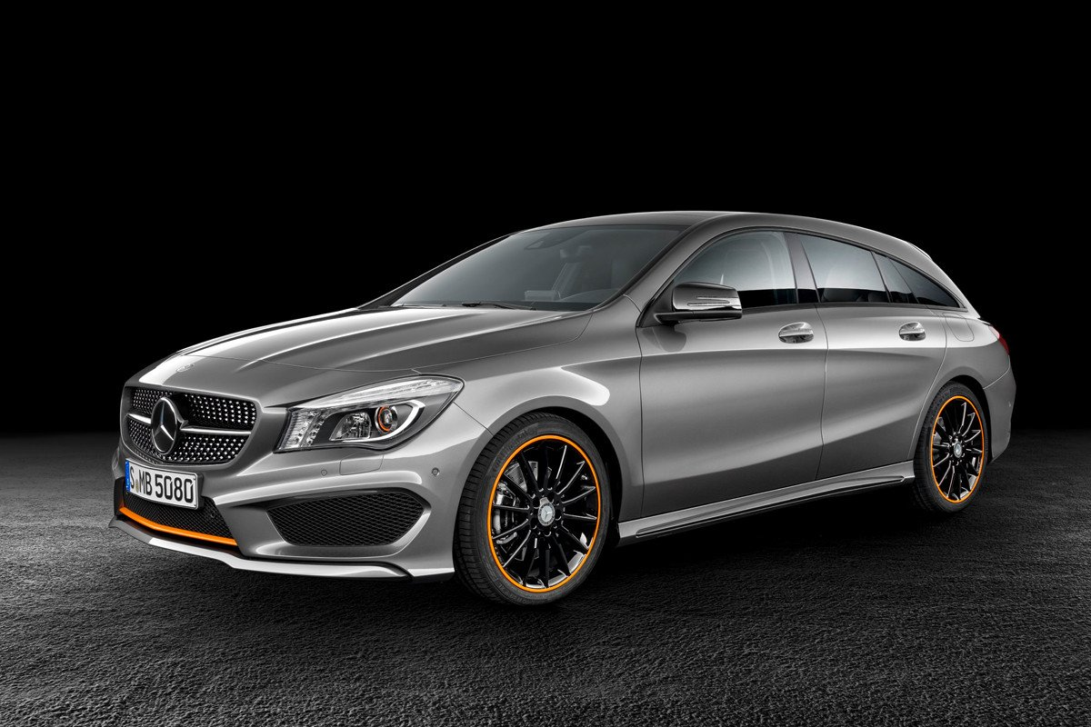 Mercedes CLA Shooting Brake OrangeArt Edition