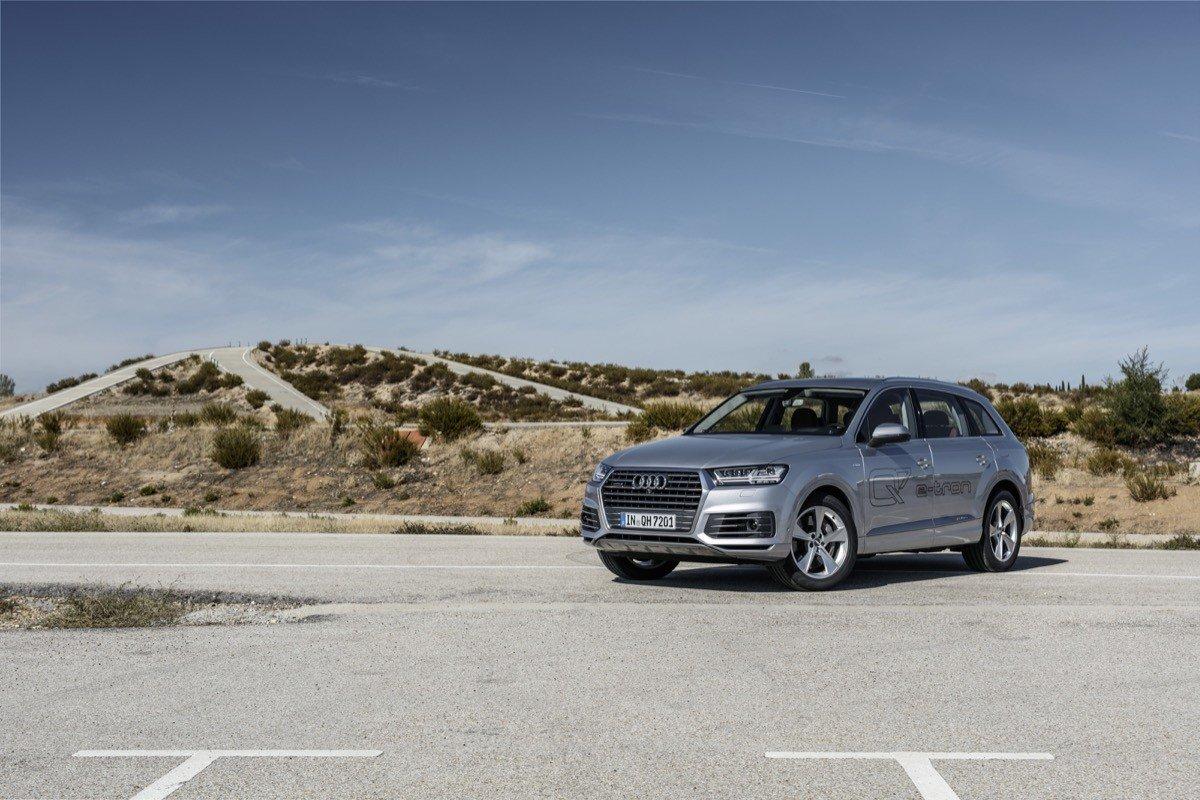 Audi Q7 E Tron Quattro Probamos El Primer H 237 Brido Di 233 Sel