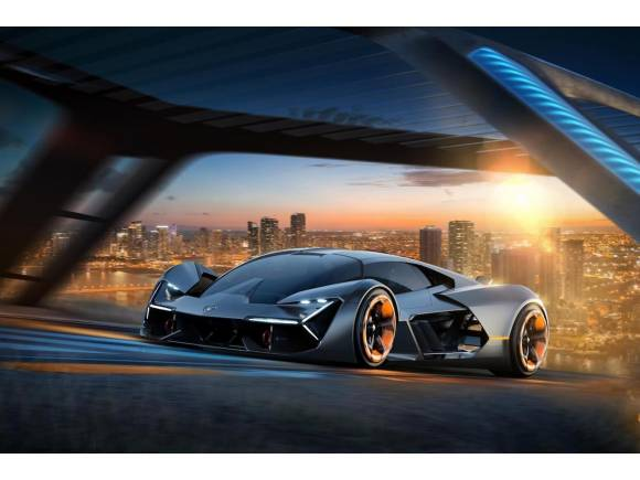 Terzo Millennio, el futuro eléctrico de Lamborghini