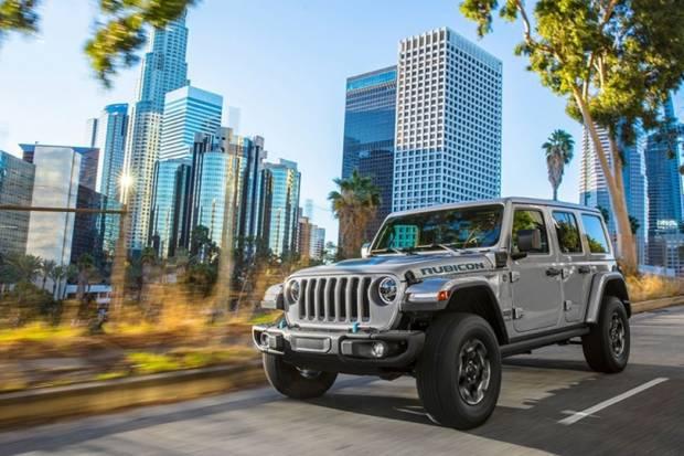 Jeep Wrangler 4xe: el trepamuros será híbrido enchufable