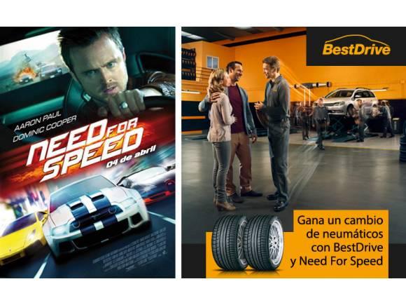 ¿Quieres conseguir un cambio de neumáticos con Need For Speed?