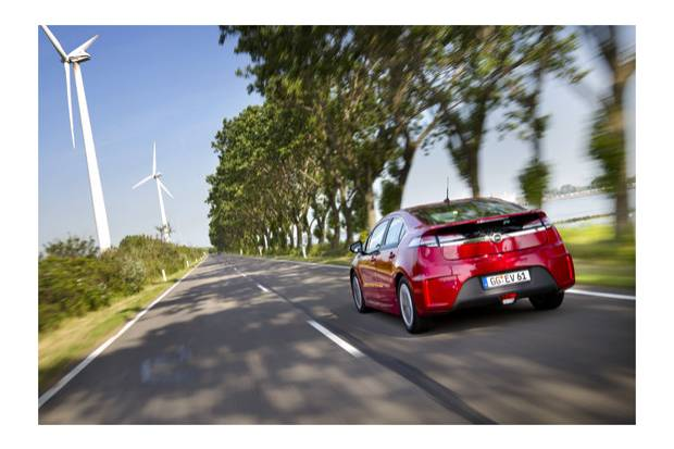 Prueba: Opel Ampera, 1,6 litros cada 100 km