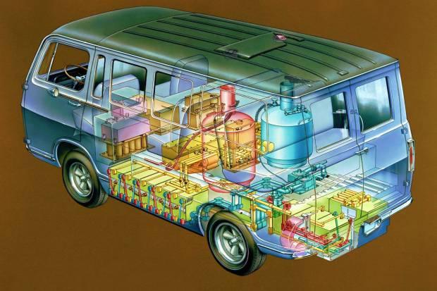 General Motors cumple 50 años probando los coches de hidrógeno
