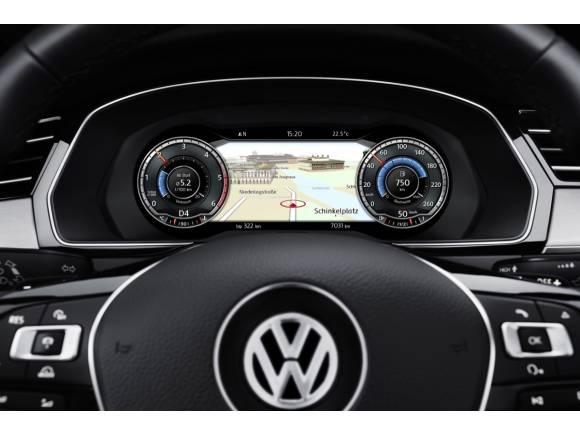 El Volkswagen Passat, ahora también con Head-up display