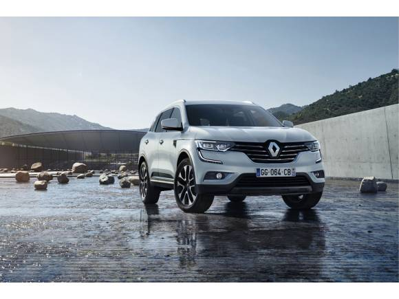 Primera imagen del nuevo Renault Koleos