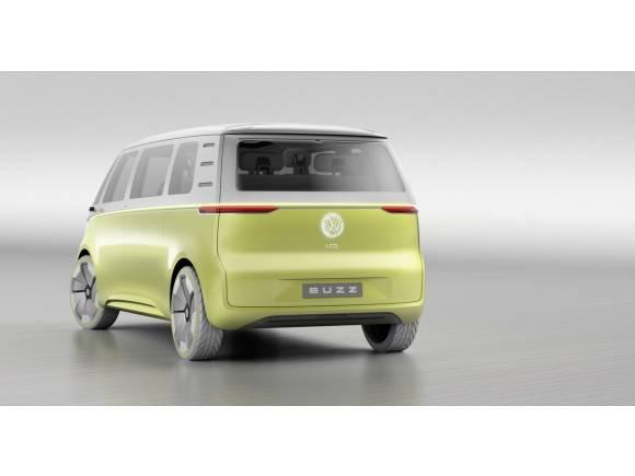 Volkswagen I.D. BUZZ: un monovolumen eléctrico de 8 plazas