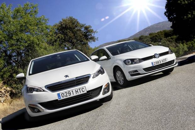 Comparativa Peugeot 308 vs Volkswagen Golf