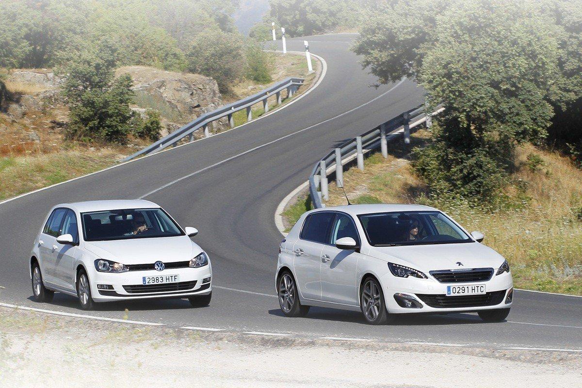 Peugeot 308 vs Volkswagen Golf