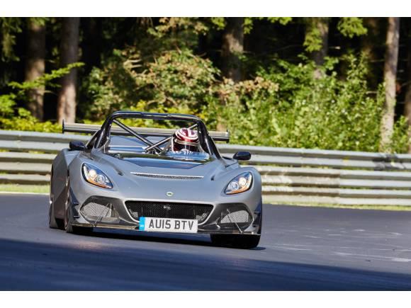 El Lotus 3-Eleven ya rueda en Nürburgring