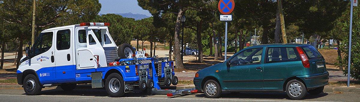 grua municipal, cuanto cuesta en barcelona