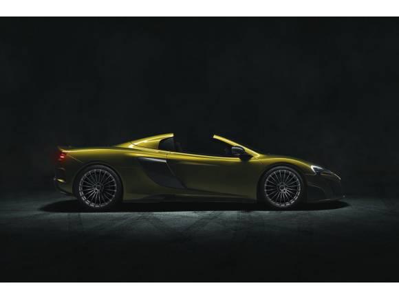 El McLaren 675LT ahora en versión Spider