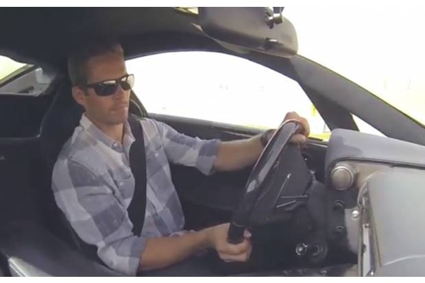 Vídeo: Lexus LFA conducido por Paul Walker en circuito